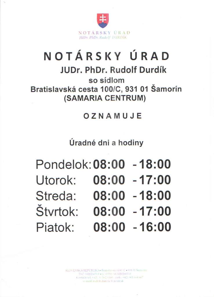 Notársky úrad-JUDr.PhDr. Rudolf DURDÍK (002)